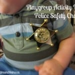 Police Safety Chat – Mom and Baby Group Activity