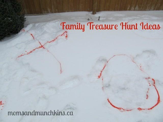 Family Treasure Hunt Ideas - Hiding Places