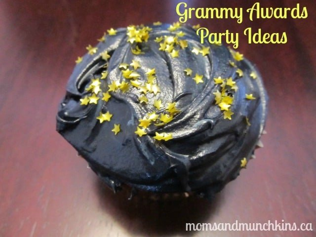 Grammy Awards Party Ideas - Cupcakes