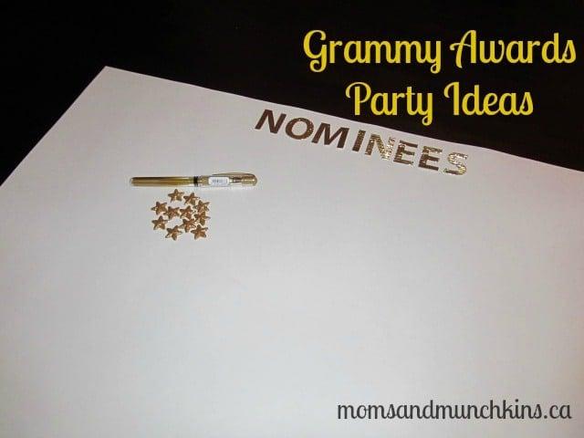 Grammy Awards Party Ideas - Decor