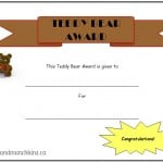 Teddy Bear Picnic Ideas - Certificate