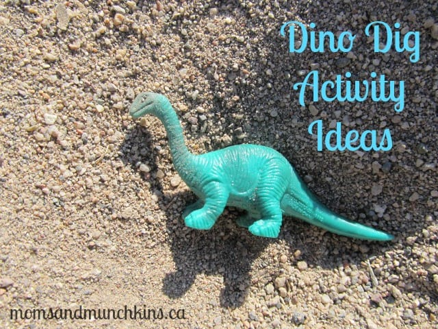 Dino Dig Activity Ideas