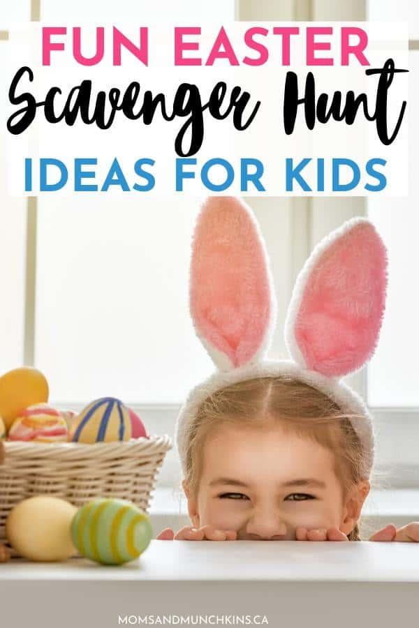 Easter Scavenger Hunt Ideas Printable