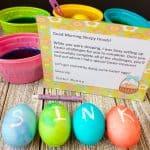 Easter Treasure Hunt Ideas plus Free Printables