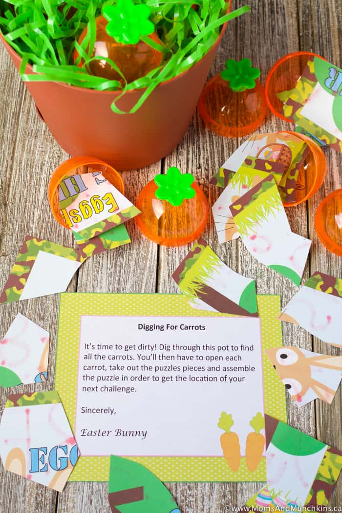 Easter Treasure Hunt Ideas plus Free Printables