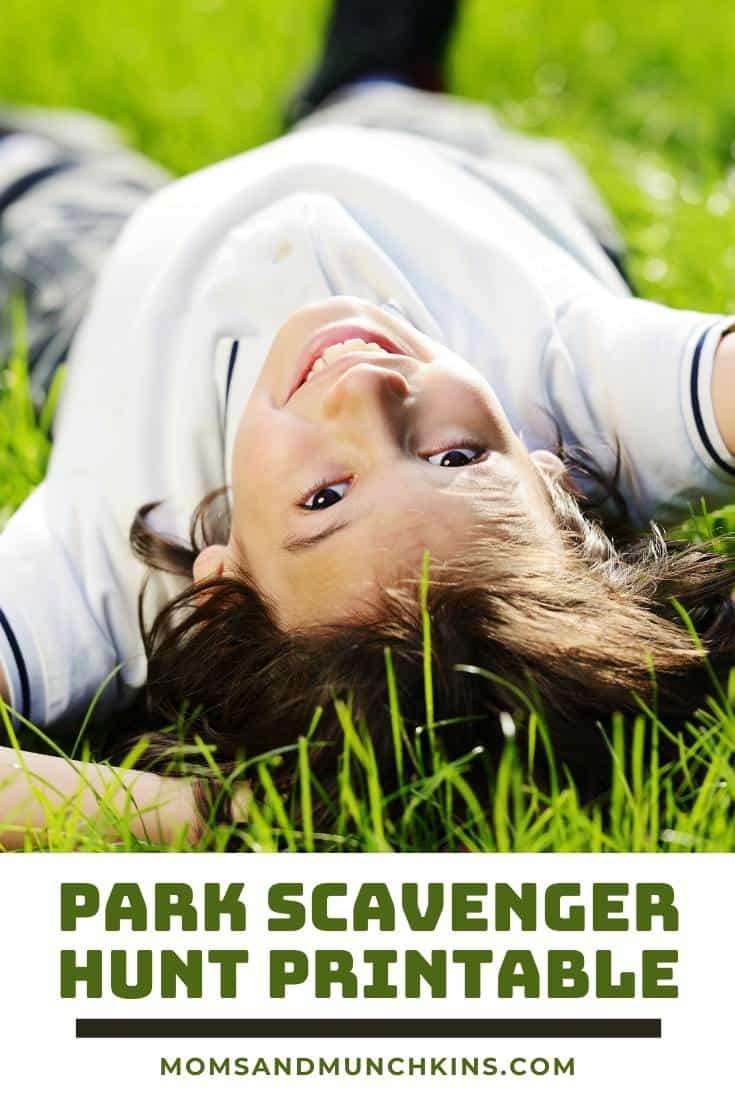 Free Park Scavenger Hunt Printable Game.
