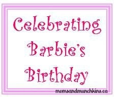 Barbie's Birthday