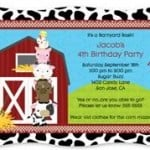 Barnyard Animals Party