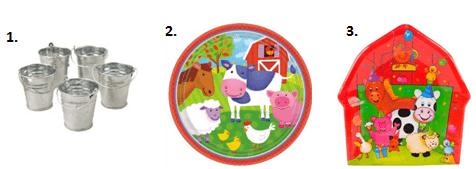 Barnyard Animals Party - Food