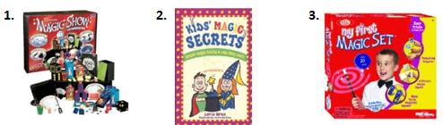 Becoming a Magician - Activities