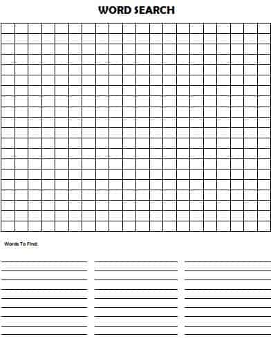 It is a photo of Clean Make Your Own Crossword Puzzle Printable