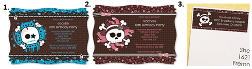 Party Like a Rock Star - Invitations