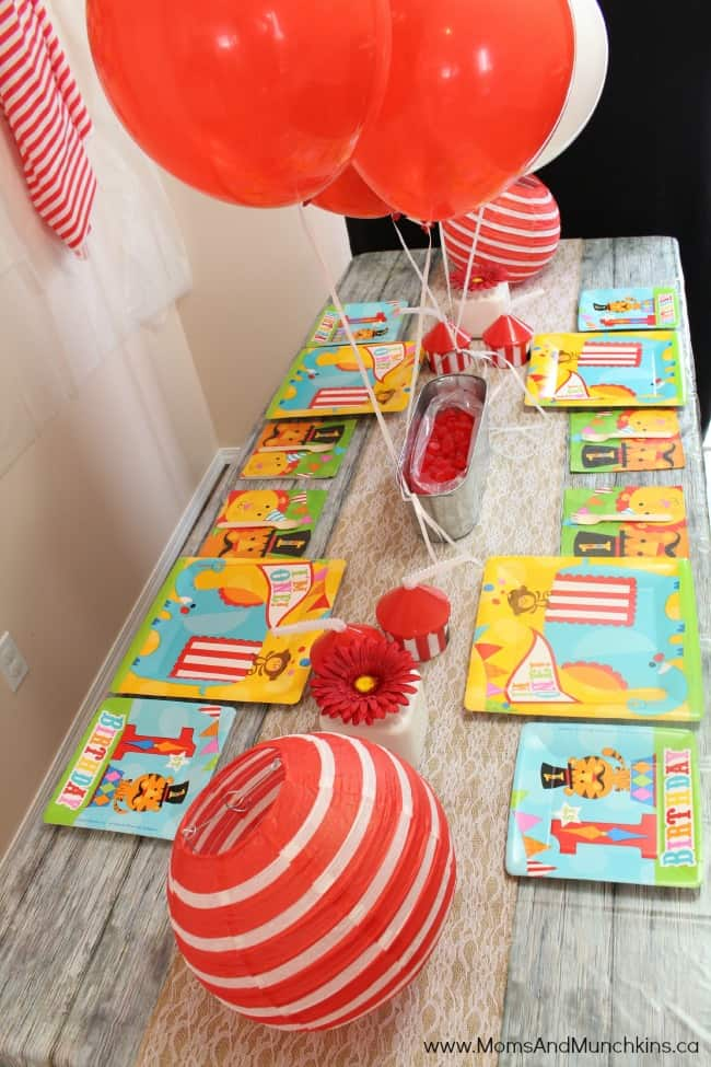 Circus Party Ideas