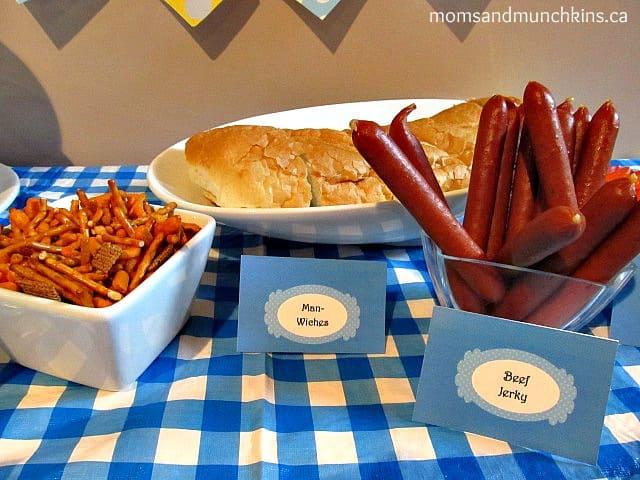 Father's Day Ideas - Snacks