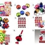 Ladybug Birthday Party Favors