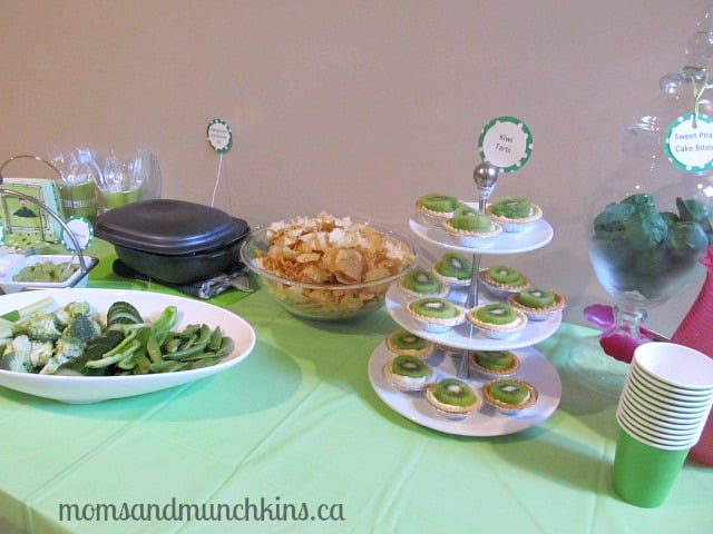 Sweet Pea Baby Shower Food