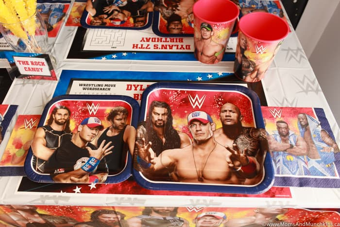 WWE Party Decorations