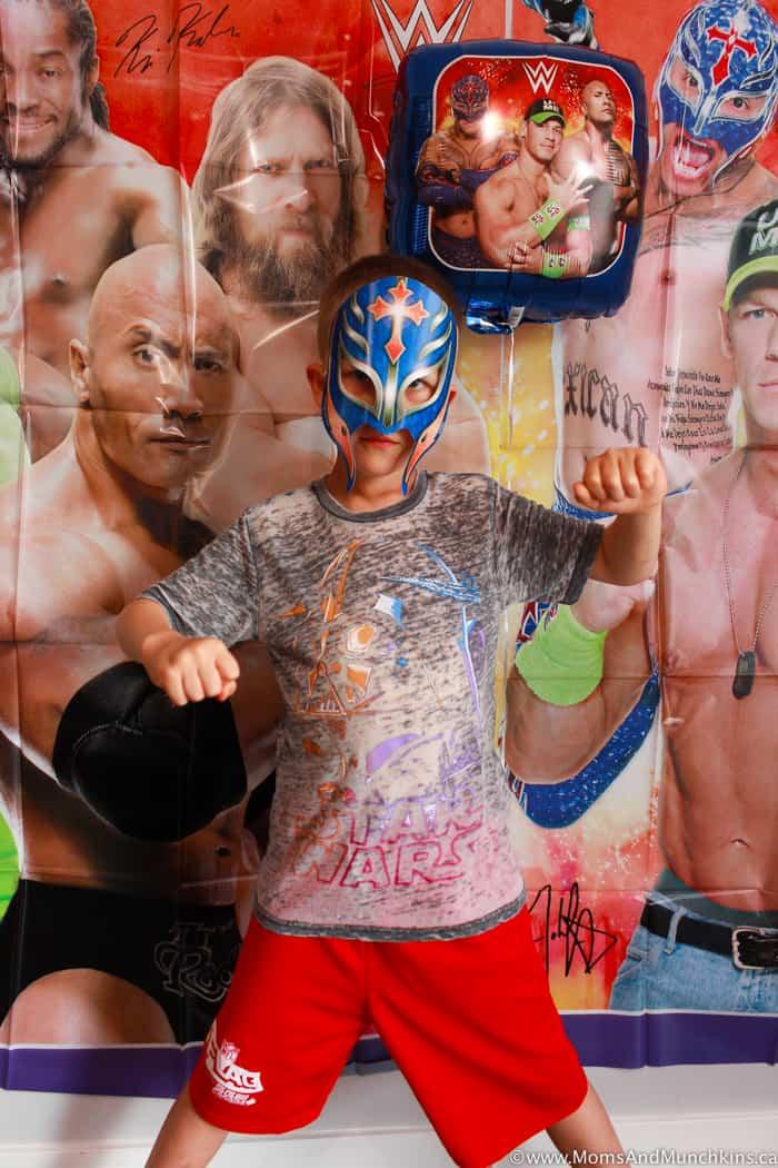 WWE Photo Booth