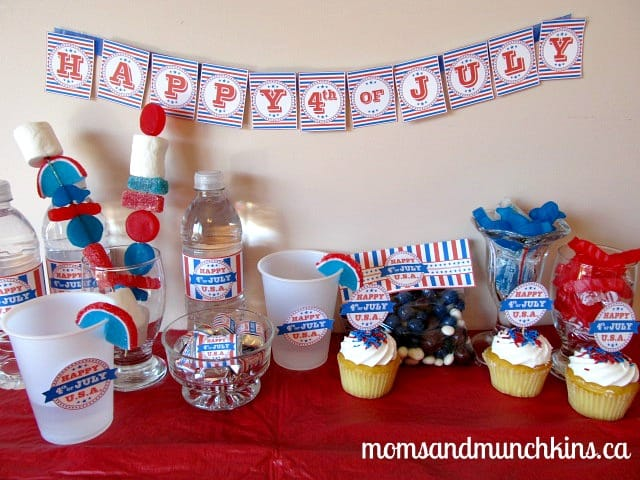 4th of July Activities for Kids - Decor
