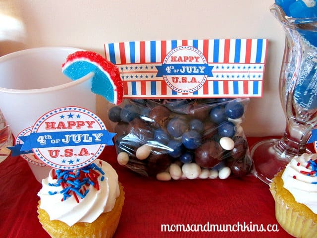 4th of July Activities for Kids Treat Bags