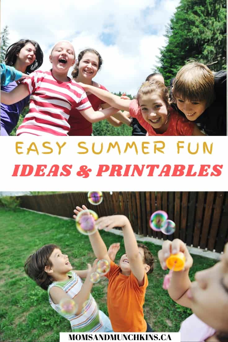 Summer Fun Ideas & Printables
