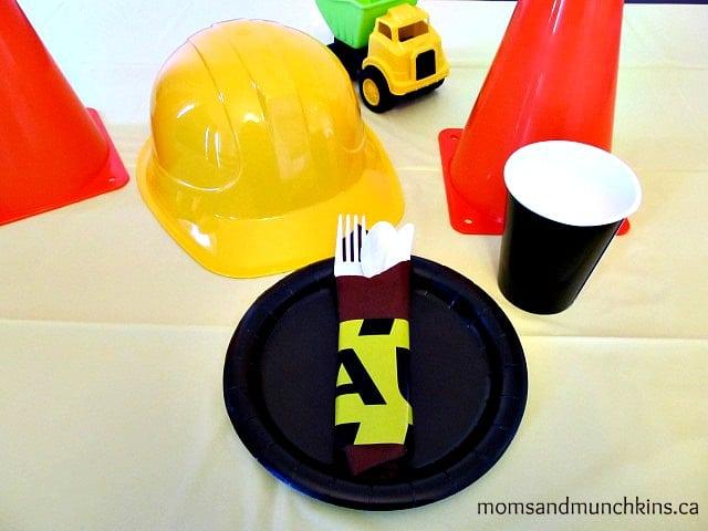 Construction Birthday Decor