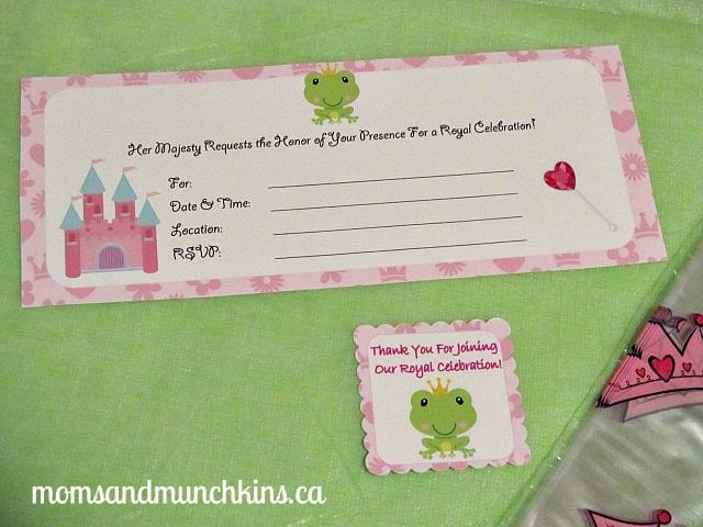 Frog Prince Party Invites