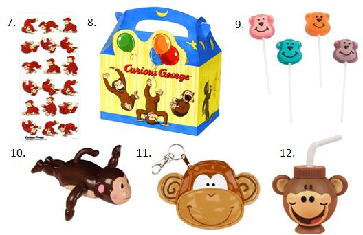 Monkey Birthday Favors - 2