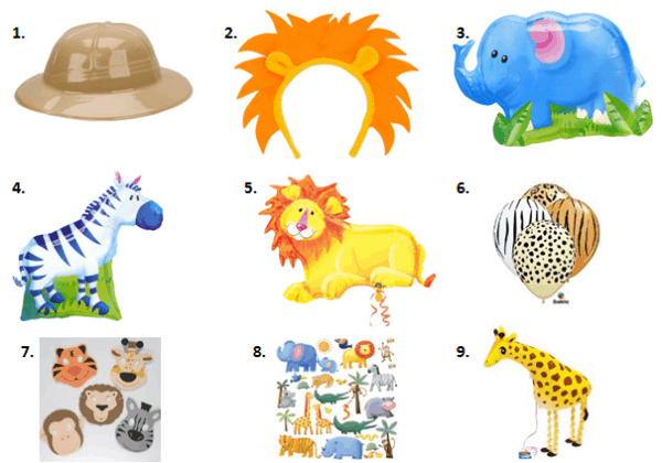 image relating to Printable Safari Animals called Safari Concept Events for Youngsters - Mothers Munchkins