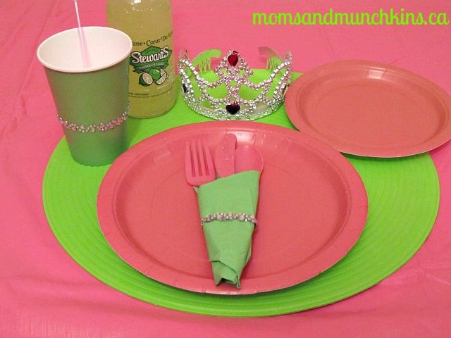 Frog Prince Party Table