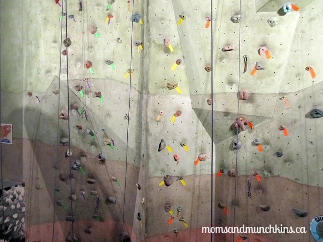 Fun Date Idea - Rock Wall