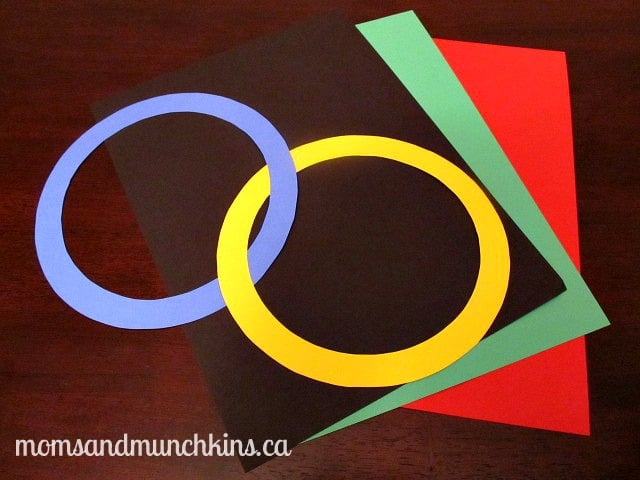 Olympic Party Ideas - Rings