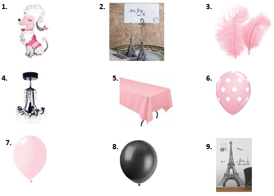 Paris Themed Party Ideas - Moms & Munchkins