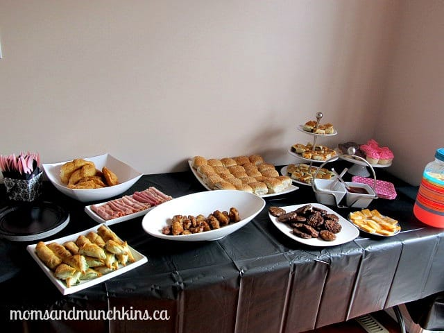 Paris Themed Party - Food
