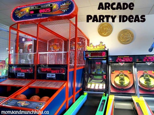 Arcade Party Ideas