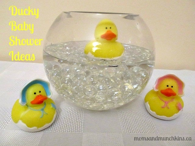 Ducky Baby Shower Ideas Moms amp Munchkins