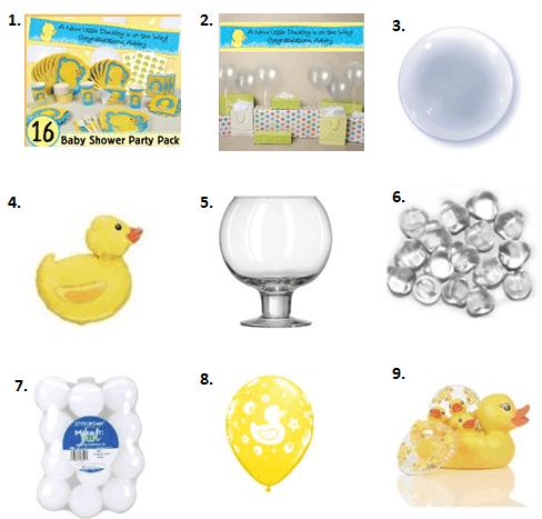 Ducky baby shower ideas moms amp munchkins