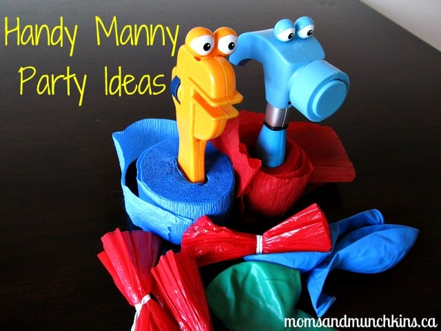 Handy manny birthday party ideas moms munchkins for Handy manny decorations