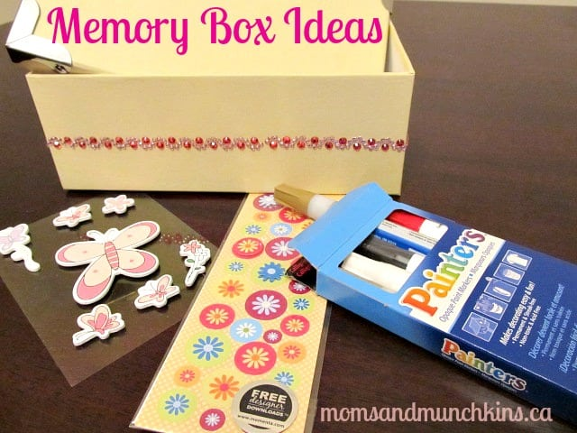 memory box ideas for kids moms munchkins