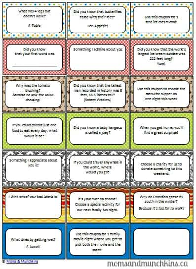 Printable Lunch Notes For Kids Moms Amp Munchkins