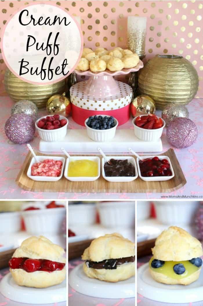 Cream Puff Buffet