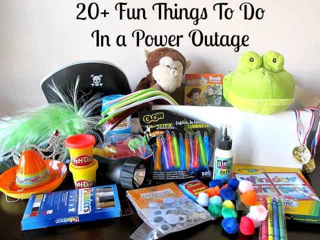 Fun Things to do in a Power Outage