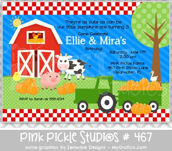 Pink Pickle Studios - Pumpkins