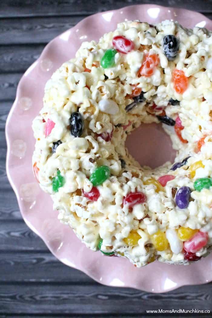 Popcorn Cake Recipe Grandma S Secret Moms Amp Munchkins