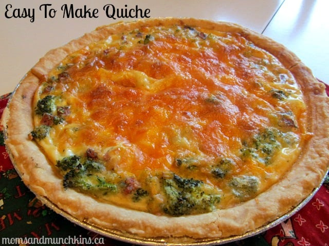 Easy quiche recipe quick delicious moms munchkins forumfinder Image collections