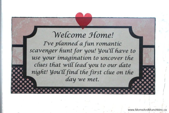 Romantic Scavenger Hunt