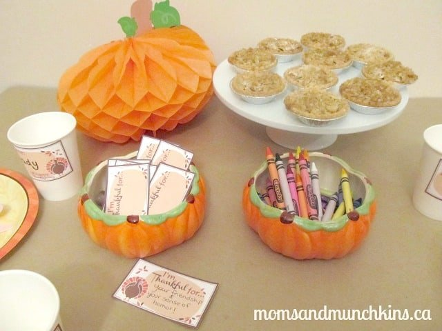Thanksgiving Ideas For Kids - Thanks