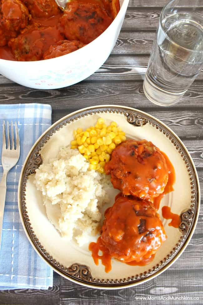 Turkey Burgers in Sauce Recipe