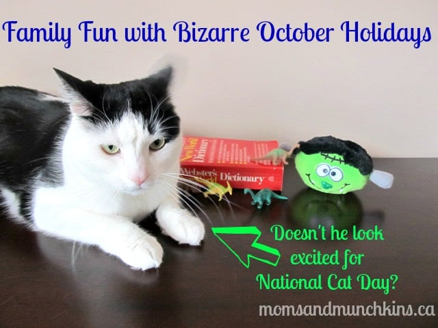 Bizarre October Holidays - Family Fun