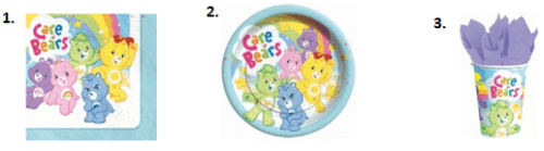 Care Bear Birthday - Food